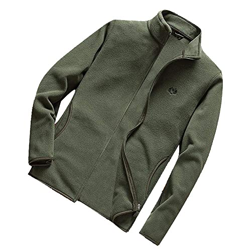 OSTELY Mens Suit Autumn Winter Fashion Pure Color Single Button Long Sleeve Casual Outwear Tops