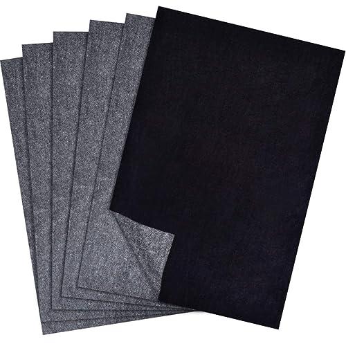 JNW Premium Graphite Carbon Transfer Tracing Carbon Paper 50 Sheets Black 9 x 13