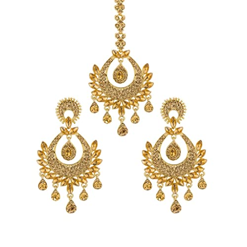 Bindhani Womens Indian Style Bollywood Jewellery Hair Accessories