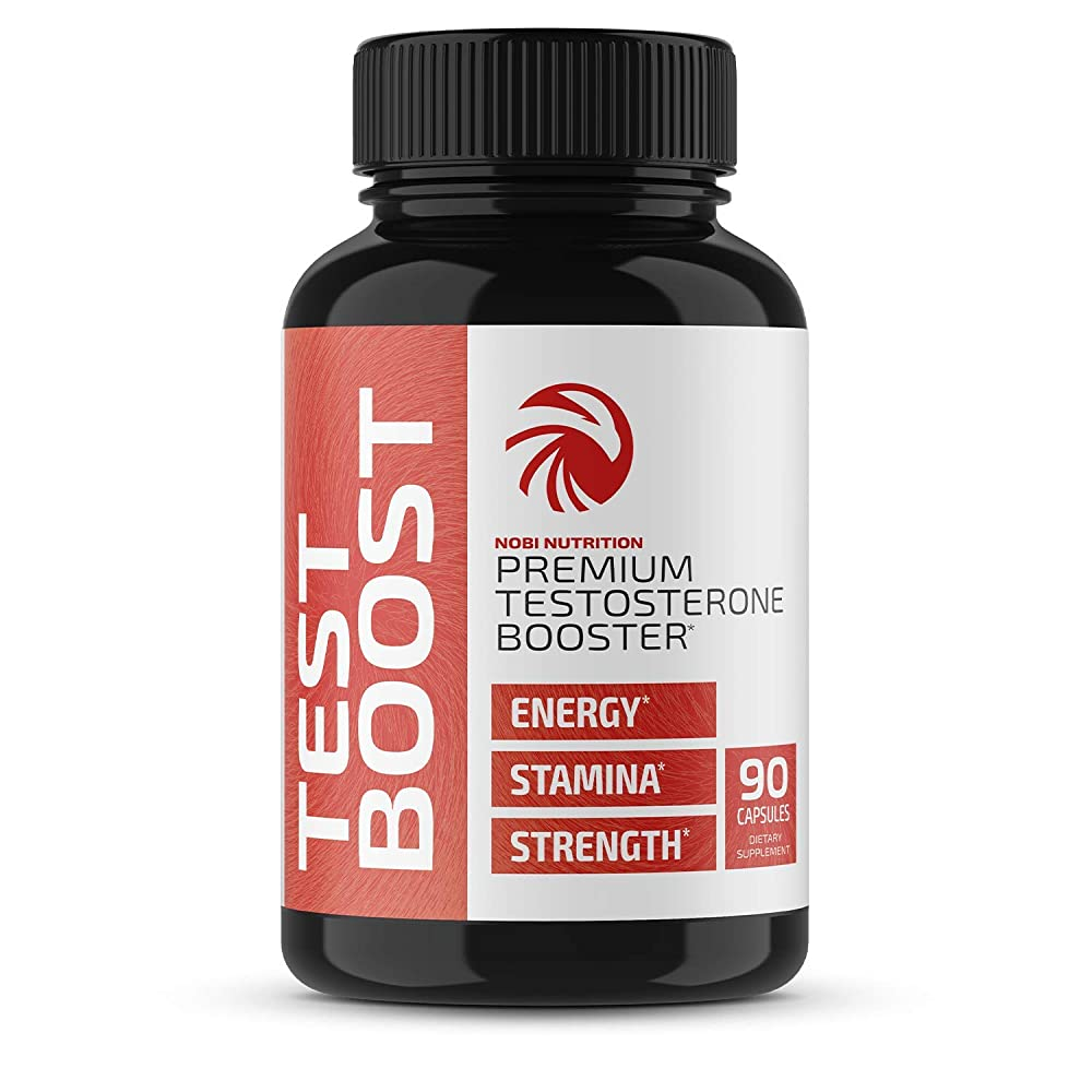 Nobi Nutrition Premium Testosterone Booster for Men - Male Enhancing Pills - Enlargement
