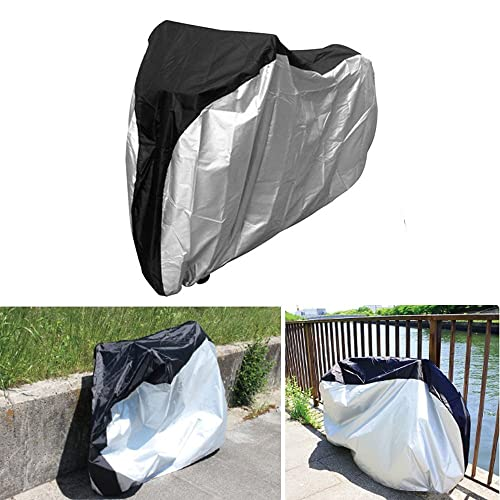 Scooters 26 Big Size Heavy Duty Motorcycle Biycle Dust Wind Rain Sun Proof Covers with Carry Bag for Cycling Bike Mountain Bikes Road Bikes AYAMAYA Bike Cover Waterproof Outdoor UV Protection