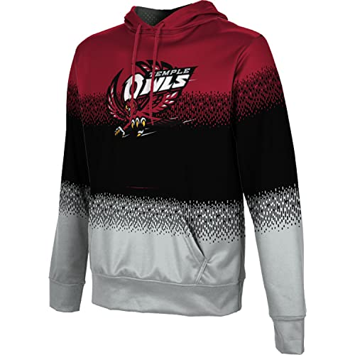 Colosseum NCAA Mens Dual Blend-Fleece Hoodie Pullover Sweatshirt