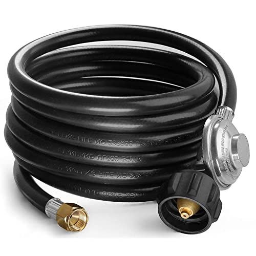 NEW BRINKMANN UNIVERSAL REPLACEMENT GRILL REGULATOR WITH HOSE