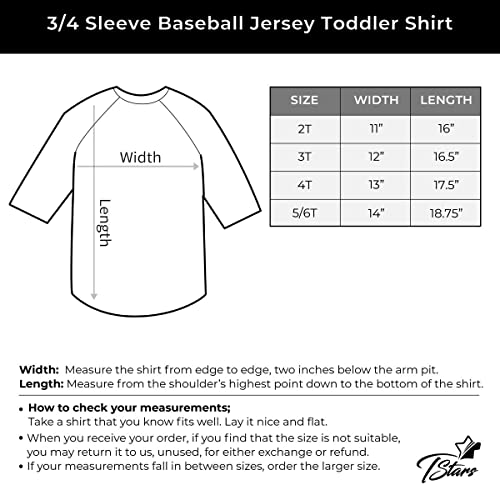 Tstars Construction Party 3rd Birthday Gift 3//4 Sleeve Baseball Jersey Toddler Shirt