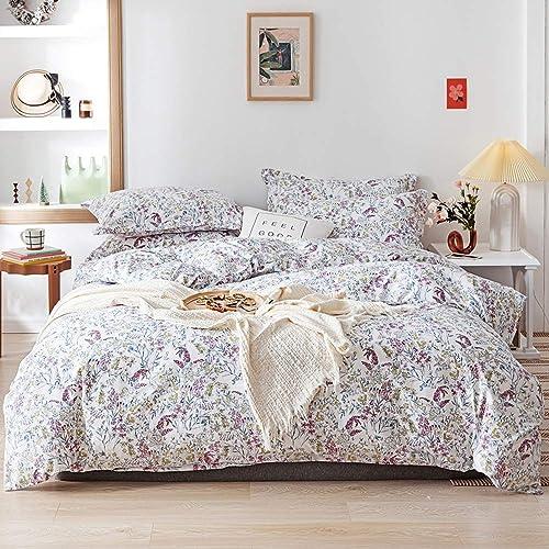 100 cotton floral twin bedding sets