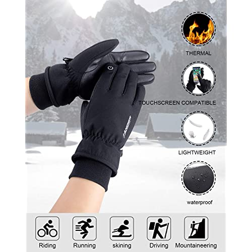 Milwaukee Leather MG7557 Mens Fingerless Distressed Gray Leather Gloves with Gel Padded Palm X-Small