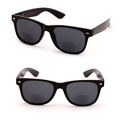 db9b7ecaab41 Buy Classic Bifocal Outdoor Reading Sunglasses - Comfortable Stylish Simple  Readers Rx Magnification with Ubuy Qatar. B07N8JMDF5