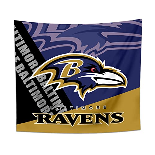 Baltimore Ravens Tapestry Wall Decor