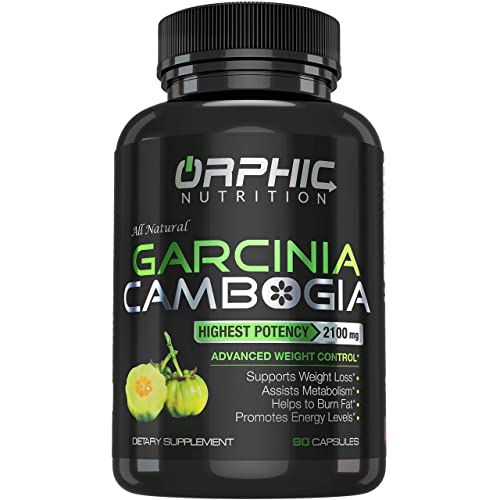 Orphic Nutrition Pure Garcinia Cambogia Extract 2100mg With 95