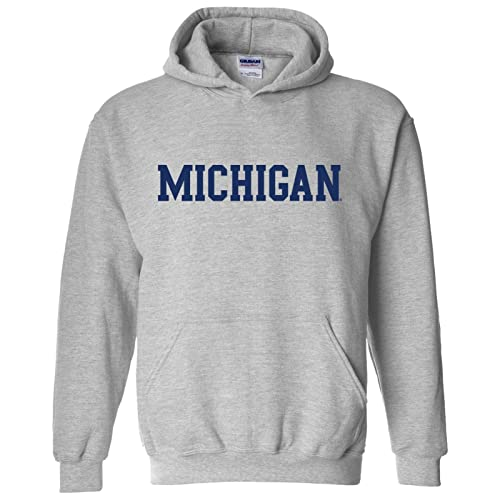 NCAA Officially Licensed College University Team Color Basic Hoodie Sweatshirt