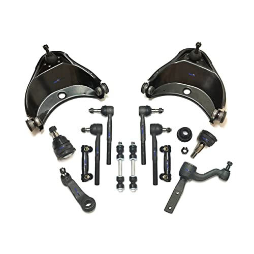 Front Upper Driver /& Passenger Side Control Arm and Ball Joint Assembly Detroit Axle 10-Year Warranty 2 2WD and 2500 Models AT 7200//7300 GVW 2WD Only Both Tahoe Yukon C1500 Savana Express