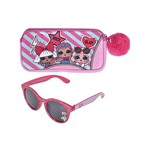 Kids  LoL Suprise Blue Sunglasses UV-400 Lol Surprise Doll Pink Handles