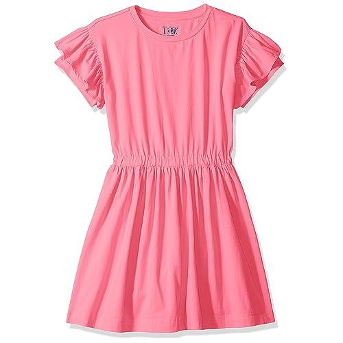 LOOK by crewcuts Girls Fleece Dress Crew Brand // J