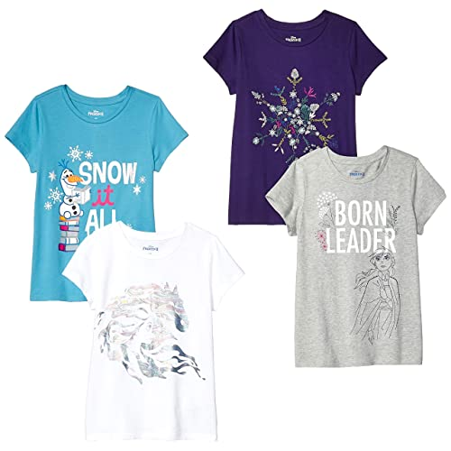 Spotted Zebra Girls 2-Pack Active Short-Sleeve T-Shirts