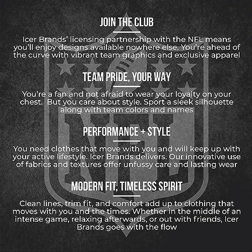Ultra Game NFL  Mens T-Shirt Active Basic Long Sleeve Tee Shirt
