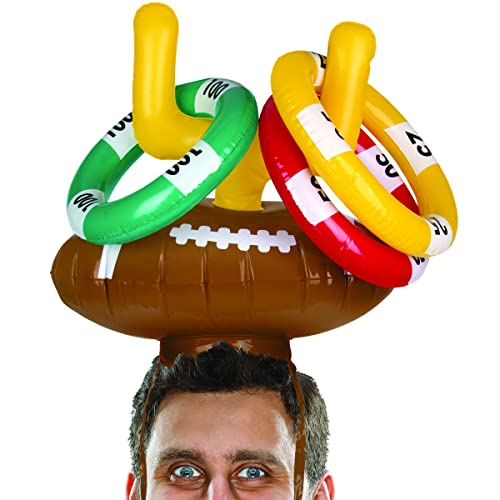 4pc Fun Express 4 Pieces Football Condiment Tray Party Entertaining Home Decor Serveware for Party