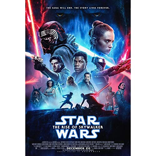 Star Wars The Rise Of Skywalker Movie Posters A4 A3 A2 Quality Prints A2 Rise Of Skywalker Poster 1 Buy Products Online With Ubuy Qatar In Affordable Prices B082fmb7sr