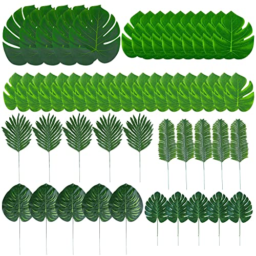 Tupa 100 Pieces 7 Kinds Artificial Palm Leaves Hawaiian Party Decorations Faux Monstera Leaves Stems Tropical Plant Simulation Safari Leaves For Luau Party Jungle Beach Theme Party 100 Buy Products Online 24 types of tropical/leaves/doodles hey guyz it's harshad hope u like this video for more make sure to subscribe and hit the bell icon for more vector. ubuy qatar