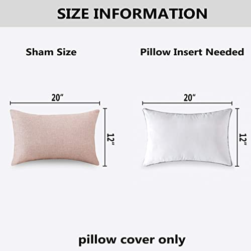 MoMA Sherpa Body Pillow Cover with Zipper Cream, 21X54 Luxury Soft Removable Body Pillow Case Long Pillow Case Long Fuzzy Body Pillow Cover