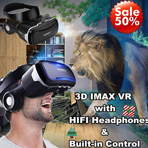 3d Vr Glassesheadset Tsanglight 3d Virtual Reality Headset Cellphone 3d Moviegame Viewer Newest For Iphone 11