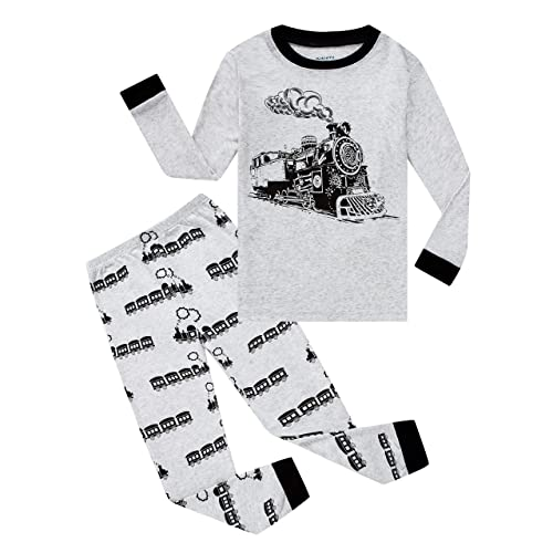 Family Feeling Christmas Bear Little Boys Girls Child Pajamas Sets 100/% Cotton Toddler PJS