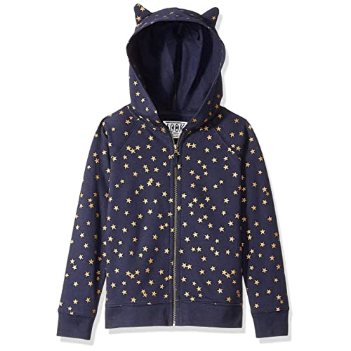 LOOK by crewcuts Girls Lightweight Cat-ear Hoodie Crew Brand // J