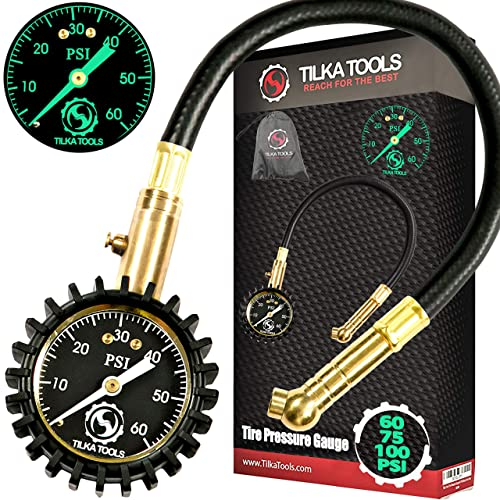 ECCPP Tire Inflator with Pressure Gauge 15 PSI Fit for All Vehicles