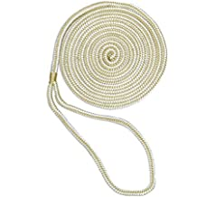 "Aamstrand 27600 Anchor Line 3 Strand Twisted Nylon White 3//8/"" 200/'"