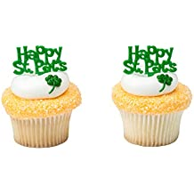 48pc ~ Birthday Party Supplies Decorations ST PATRICK/'S DAY CUPCAKE KIT FOR 24