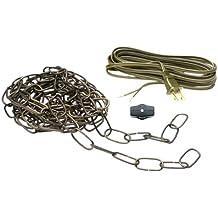 Carre Bronze Kichler 4909CZ Accessory Chain Extra Heavy Gauge 36-Inch