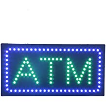 LED Income Tax Service Open Light Sign Super Bright Electric Advertising Display Board for Tax Preparation Refund Department Office Attorney Business Shop Store Window Bedroom 24 x 12 inches