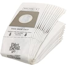 3920047001 /& 3920048001 Part # 3920750001 20 Dirt Devil Type U Allergen Bags