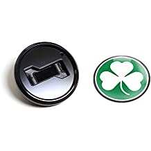 Magnetic Black Grill Badge Holder Combo//Universal Fit//No Tools Required//Weather-Proof And Car-Wash Safe GoBadges BKC005 Skull 101
