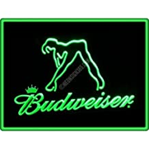NEW! BEER Shoe Laces White Red Promo 54 inch 2 Pairs Budweiser