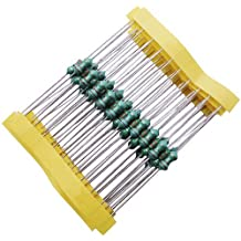 Maslin 100PCS 0410 1MH 1.2MH 1.5MH 2.2MH 3.3MH 4.7MH Inductors 1//2W 0.5W Color Ring Inductance Circle Power Inductor Value of Resistance: 1MH 100pcs