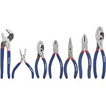 Handy Man 5pc Groove /& Slip Joint Long Nose Locking Diagonal Pliers Tool Set