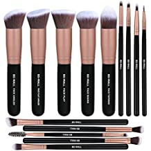 f9e5cd3cd1f BS-MALL Makeup Brushes Premium Synthetic Foundation Powder Concealers Eye  Shadows Makeup 14 Pcs Brush