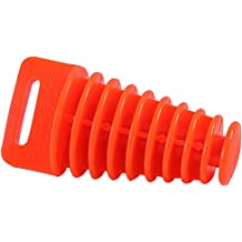 ORANGE JCMOTO Muffler Tail Pipe Exhaust Silencer Wash Plug Bung For 2 and 4Stroke Motorcycle Dirt Bike 34-62mm