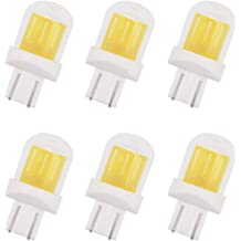 GRV T10 921 192 194 COB 1511 SMD LED Lights Bulbs 2.8W AC//DC 12-14V Glass Ceramic LED for RV Dome Interior Car Lights Cool White Pack of 10