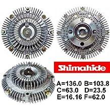 SHIMAHIDE FAN CLUTCH for 1992-1995 TOYOTA PICKUP 2.4L 2WD 16210-35020