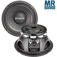 PRV Audio 8MR500-NDY-4 Neodymium 8 Mid Range 4 ohms Pro Audio Speaker 96dB 250 Watts RMS 1.5 VC Single