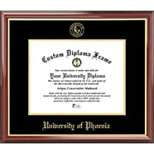 Professional//Doctor Sculpted Foil Seal Name /& Tassel Graduation Diploma Frame 16 x 16 Gloss Mahogany with Gold Accent Signature Announcements Grand-Canyon-University-ROTC Undergraduate