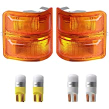 JP30066A1R CH2521143 55156766AD CarPartsDepot Passenger Right Side Amber Turn Signal Marker Light Parking Lamp RH
