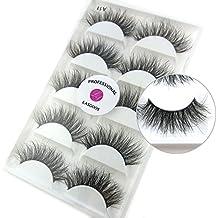 8e720b98cb5 3D Mink False Eyelash LASGOOS Degisn Luxurious Natural Messy Volume Fluffy  Long Hot Fake Eyelashes 5