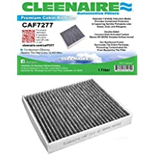 Cabin Air Filter For 15-17 Ford F-150 Cleenaire CAF79 The Most Advanced Protection Against Smog Bacteria Dust Viruses Allergens Gases Odors