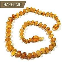 5.5 Twist-Clasp Baltic Amber Coffee Bracelet Hazelaid TM
