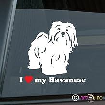 Mister Petlife I Love My Labradoodle Sticker Vinyl Auto Window v2 Doodle