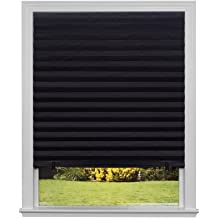 Easy Removal 17.5 x 80 in. Room Darkening Heat Resistant No Residue Static Cling Film for Privacy /& Day Sleep Total Blackout Window Film: 100/% Light Blocking Film with White Sides Stops UV