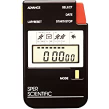 Sper Scientific 810035 Large Display Water Resistant Digital Stopwatch 2.5 Width 3.25 Height 2.5 Width 3.25 Height