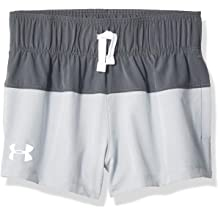 Moderate Gray-S19 2T Under Armour Girls Toddler Record Breaker Short